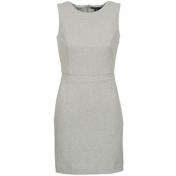 Clothing Women Short Dresses Gant L. JERSEY PIQUE Grey