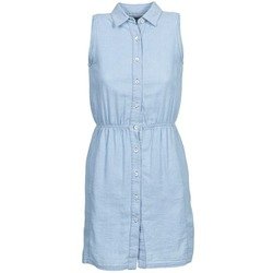 Clothing Women Short Dresses Gant O. INDIGO JACQUARD Blue