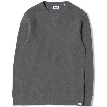 Clothing Men jumpers Edwin Jeans Edwin Waffle Long Sleeve T-Shirt Grey