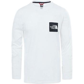 Clothing Men T-shirts & Polo shirts The North Face Black Label L/S Fine T-Shirt White