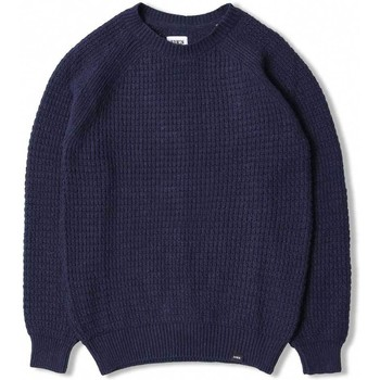 Clothing Men sweaters Edwin Jeans Edwin Purl Sweater Navy