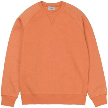 Clothing Men sweaters Carhartt Chase Sweatshirt Orange