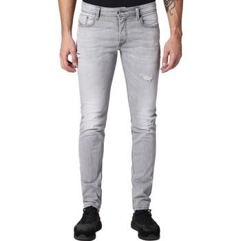 Clothing Men Jeans Diesel Sleenker 084RZ Skinny Jeans Blue