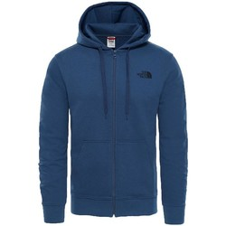 Clothing Men sweaters The North Face Open Gate Full Zip Light Hoodie Blue Wing Teal Blue
