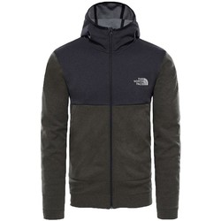Clothing Men Macs The North Face Mountain Tech Hoodie New Taupe Green Green