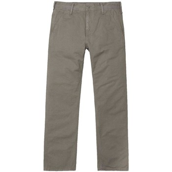 Clothing Men chinos Carhartt Chalk Pant Grey