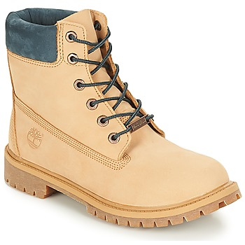Shoes Children Mid boots Timberland 6 In Premium WP Boot Iced   Coffee 8da6d01a8e