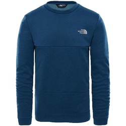 Clothing Men sweaters The North Face Mountain Tech Crew Fleece Teal