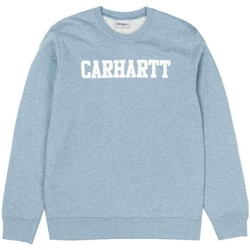 Clothing Men sweaters Carhartt College Sweatshirt Dusty Blue