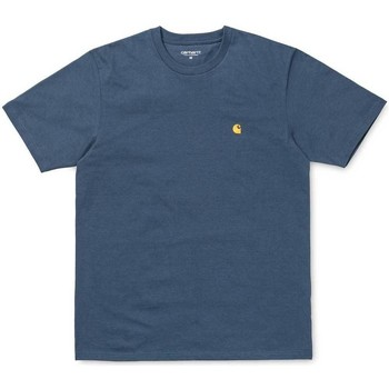 Clothing Men short-sleeved t-shirts Carhartt Chase T-Shirt Blue