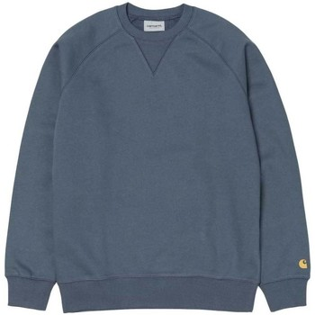 Clothing Men sweaters Carhartt Chase Sweatshirt Stone Blue