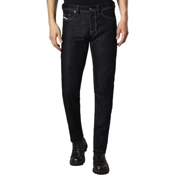 Clothing Men Jeans Diesel Larkee-Beex 084HN Tapered Jeans Dark Blue
