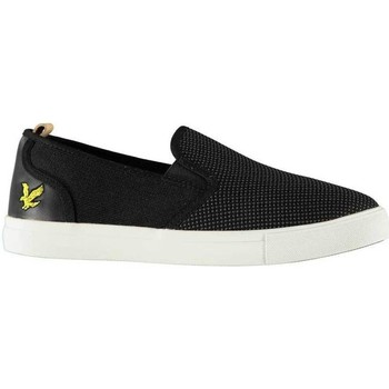 Shoes Men Slip ons Lyle & Scott Lyle and Scott Matteo Shoe True Black Black