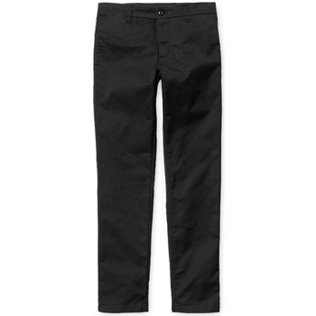 Clothing Men chinos Carhartt WIP Sid Pant Chinos Black