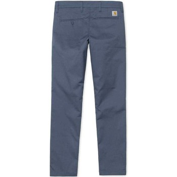 Clothing Men chinos Carhartt WIP Sid Pant Blue