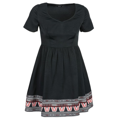 Clothing Women Short Dresses Eleven Paris NANA Black