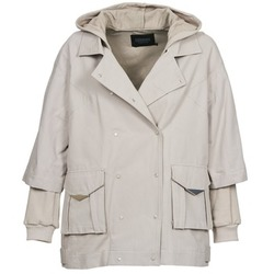 Clothing Women Jackets Eleven Paris NOLINDA Grey