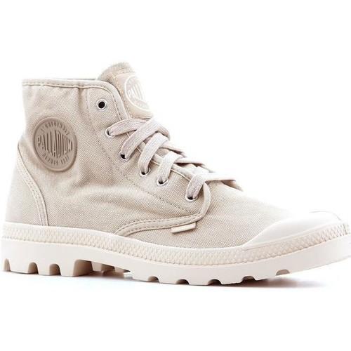 Shoes Men Hi top trainers Palladium Pampa Hi 02352-238-M beige