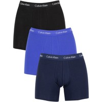 Underwear Men Boxer shorts Calvin Klein Jeans 3 Pack Cotton Stretch Boxer Briefs blue