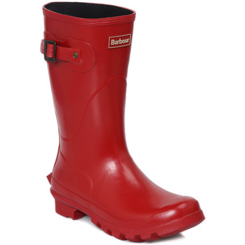 Wellington boots Barbour Short Gloss Red Wellington