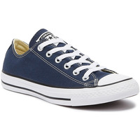 Shoes Low top trainers Converse CT Low Womens Navy Blue Canvas Trainers Blue