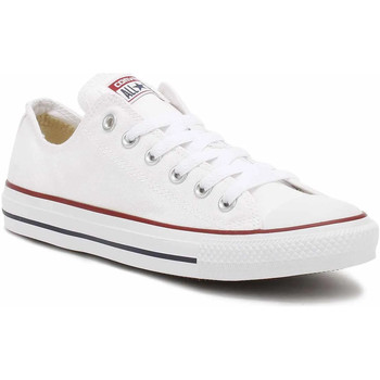 Converse  Mens Womens White All Star Low Trainers  mens Shoes (Trainers) in white