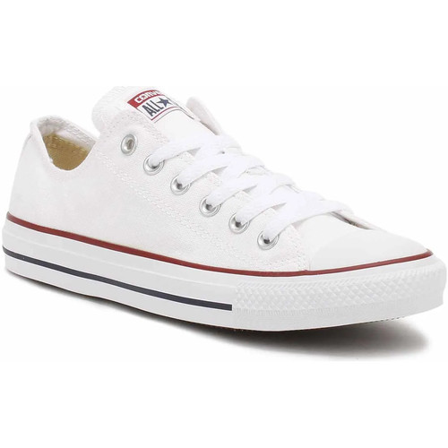 Shoes Low top trainers Converse Mens Womens White All Star Low Trainers White