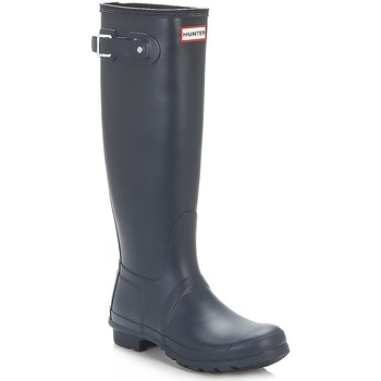 Wellington boots Hunter Wellies Original Tall Navy Rubber Boots