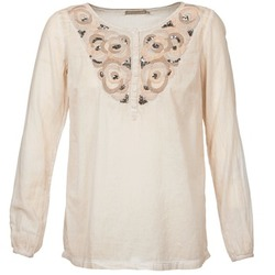 Clothing Women Tops / Blouses Cream LILA Beige