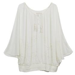 Clothing Women Tops / Blouses Cream DREY ECRU