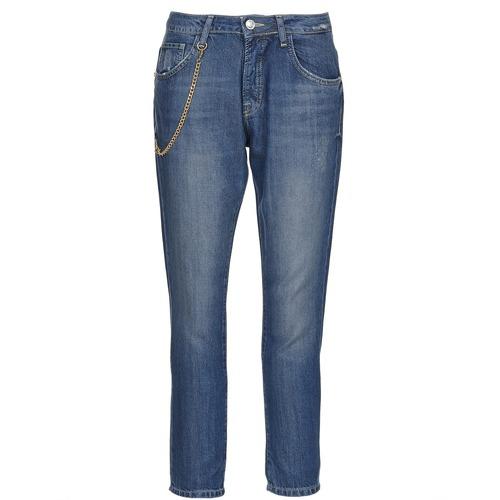 Clothing Women straight jeans Gaudi AANDALEEB Blue / Medium