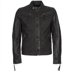 Clothing Men Leather jackets / Imitation leather Redskins DRAKE Black