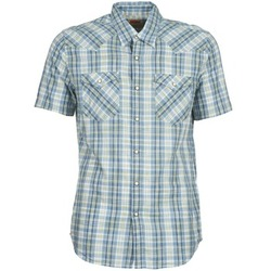 Clothing Men short-sleeved shirts Levi's WOVENS Blue