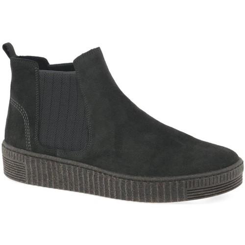 Shoes Women Mid boots Gabor Lourdes Womens Chelsea Boots grey