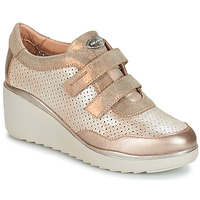 Shoes Women Low top trainers Stonefly ECLIPSE 9 G.L./NA GL Metal fizz
