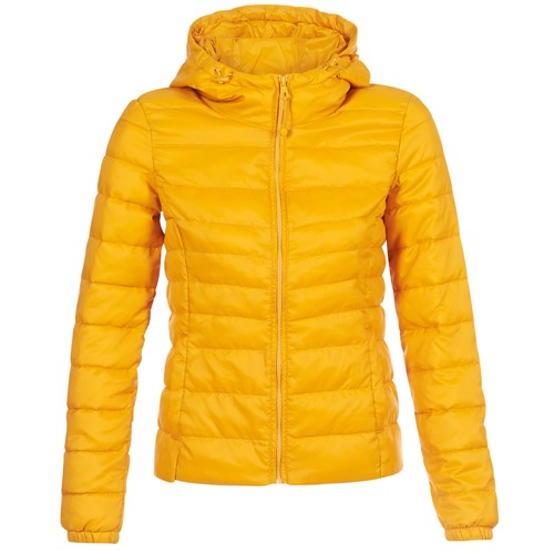 Clothing Women Duffel coats Only ONLTAHOE Yellow