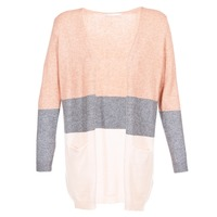 Clothing Women Jumpers Only ONLQUEEN Pink / Grey