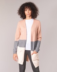 Clothing Women Jackets / Cardigans Only ONLQUEEN Pink / Grey