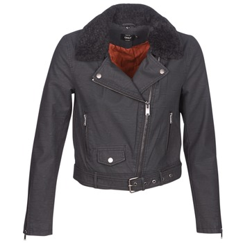 Clothing Women Leather jackets / Imitation leather Only ONLCAROL Black