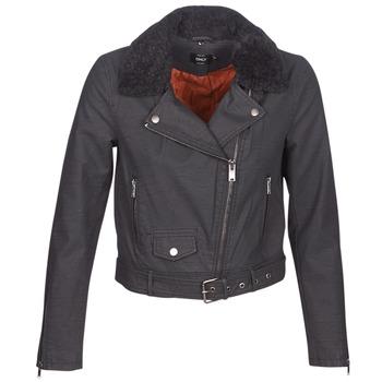 Clothing Women Leather jackets / Imitation leather Only ONLCAROL Black