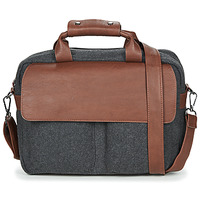 Bags Men Computer bags André LINO Grey / Brown