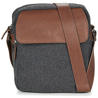 Bags Men Messenger bags André LENNY Grey / Brown