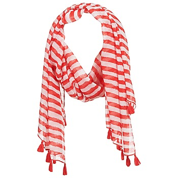 Clothes accessories Women Scarves / Slings André DOVA White / Red