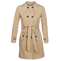 Clothing Women Trench coats Betty London JIVELU Beige