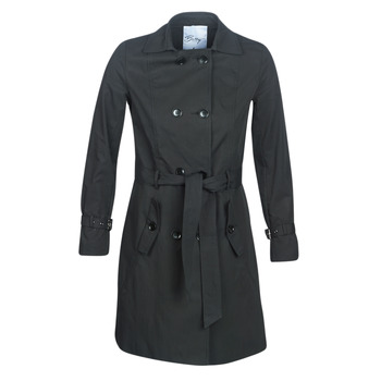 Clothing Women Trench coats Betty London JIVELU Black