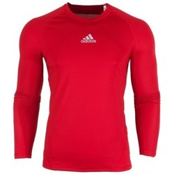 Clothing Men Long sleeved tee-shirts adidas Originals Alphaskin LS Red