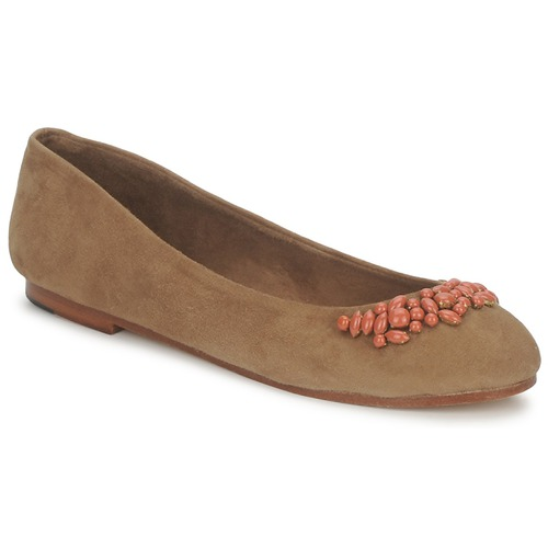 Shoes Women Flat shoes Ambre Babzoe DUFFY Camel