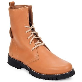Shoes Women Mid boots Swamp BIKE Beige