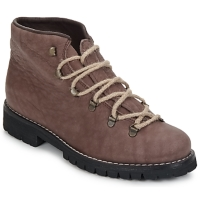 Shoes Women Mid boots Swamp PEDULA CUI TAUPE