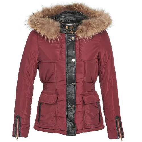 Clothing Women Duffel coats Betty London BAMBOU Bordeaux